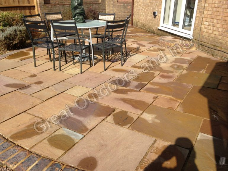 Indian Sandstone cleaning in Luton, Bedfordshire