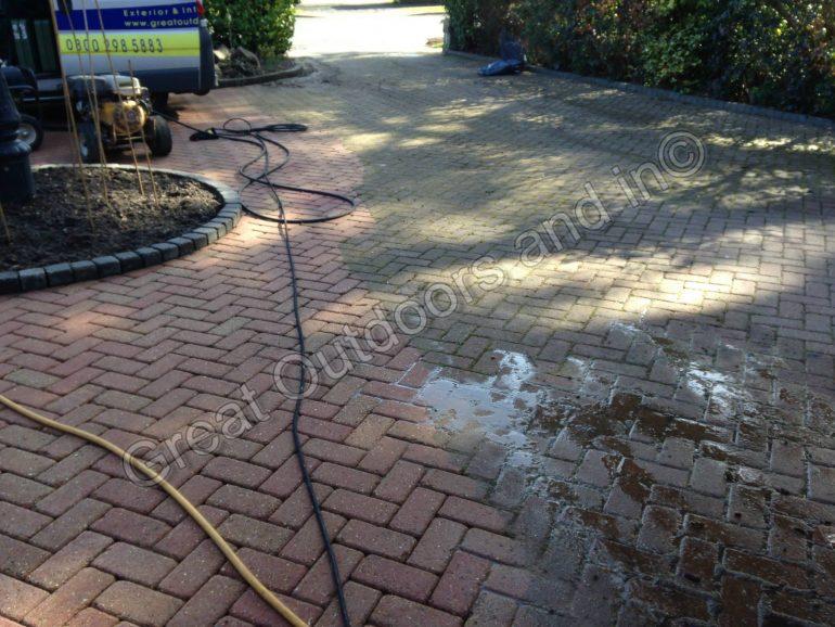 Pressure Washing in Radlett, Hertfordshire