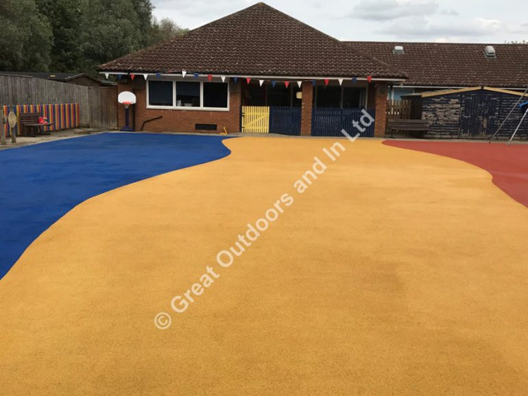 Wet Pour Playground Cleaning in Milton Keynes