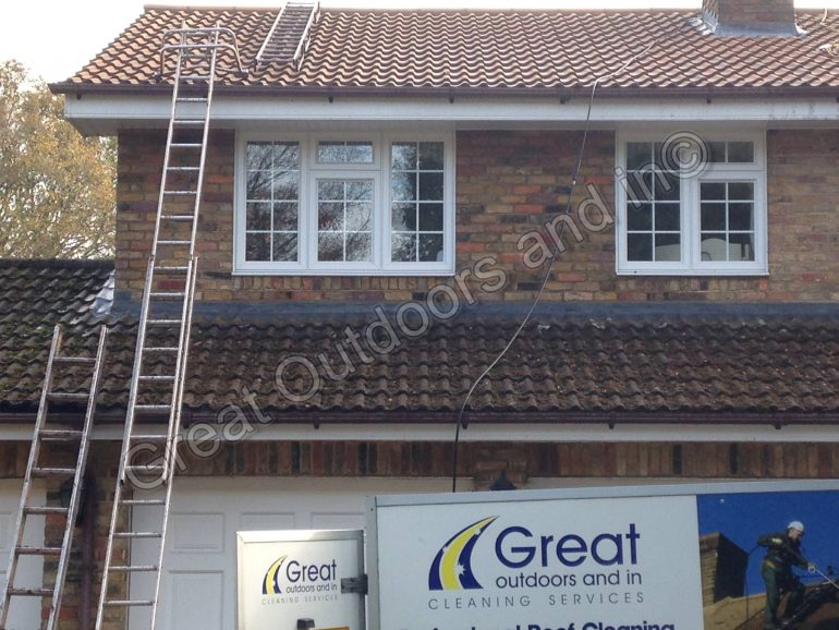 Roof Cleaning in Studham, Bedfordshire