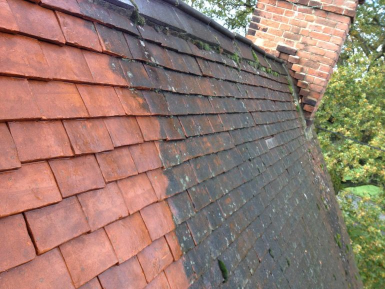 Roof Cleaning and Coating - Croxley Green, Hertfordshire