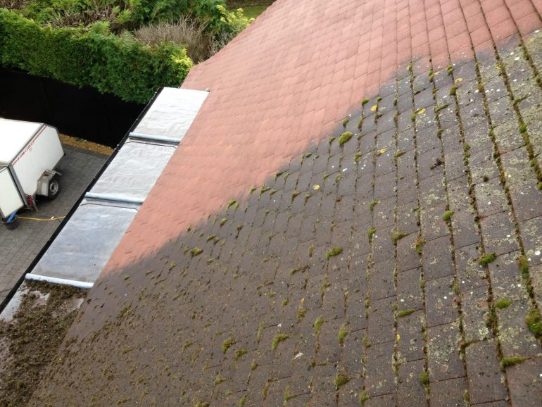 Roof Cleaning and Coating - Hitchin, Hertfordshire